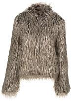 Fox Faux Fur Jacket
