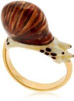 Nach Round Snail Ring
