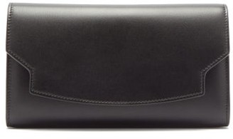 The Row Lady Leather Wallet - Womens - Black