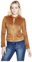 G by Guess GByGUESS Women's Aisha Faux-Suede Jacket