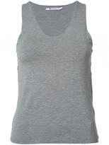 Alexander Wang Sleeveless Shell Slit Back Tank