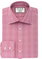 Thomas Pink Humphrey Check Slim Fit Button Cuff Shirt