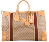 Gucci GG Plus Web Carry-On Duffle Bag