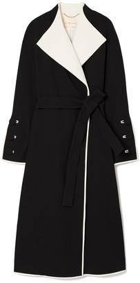 Tory Burch Crepe Wrap Coat