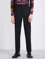Brioni Regular-fit wool and mohair-blend trousers