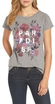 Lucky Brand Women's Paradise Floral Print Tee