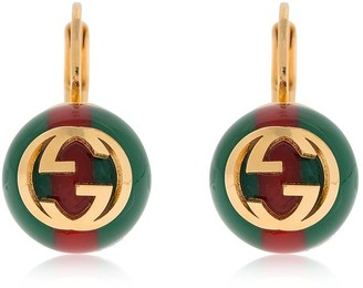 Gucci GG WEB MOTIF EARRINGS