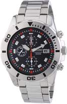 Seiko Men's Chronograph SNDD95 Silver Stainless-Steel Quartz Watch with Dial