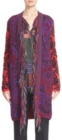 Etro Intarsia Sweater Coat
