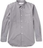 Comme Des Garçons Shirt - Gingham Cotton-poplin Shirt