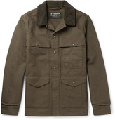 Filson - Corduroy-trimmed Cotton-canvas Field Jacket
