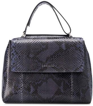 Orciani Diamond large clutch bag