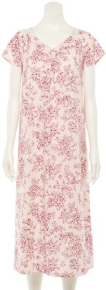 Croft & Barrow Petite Long Nightgown