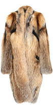 Sally LaPointe Smokey Fox Cocoon Coat