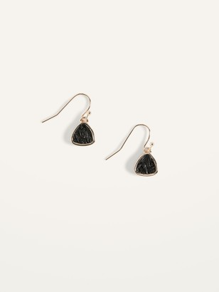 Old Navy Raffia-Wrapped Drop Earrings for Women