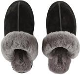 UGG Women's Scuffette Slippers - Black/Grey - UK 7