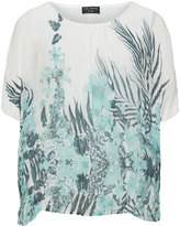 Via Appia Plus Size Floral print top