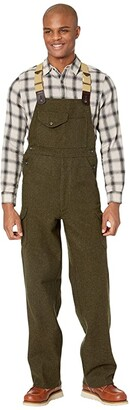 Filson Mackinaw Bibs (Forest Green) Men's Casual Pants