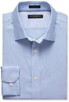 Banana Republic Camden-Fit Non-Iron Medium Stripe Shirt
