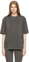 Thumbnail for your product : Ader Error Grey Needle Logo T-Shirt