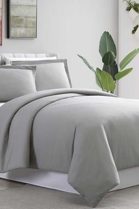 Modern Threads King/California King Ultra Plush Duvet Set - Gray