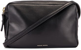 Mansur Gavriel Double Zip Crossbody Bag in Black | FWRD