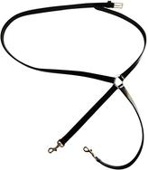 Christian Dior Black Leather Belt