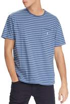 Polo Ralph Lauren Weathered Striped Classic Fit Tee