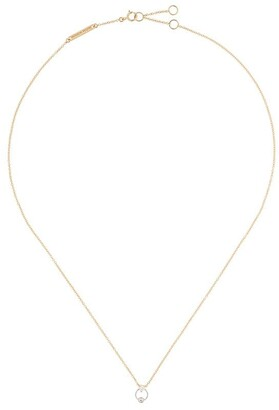 Delfina Delettrez 18kt yellow and white gold Two In One diamond necklace