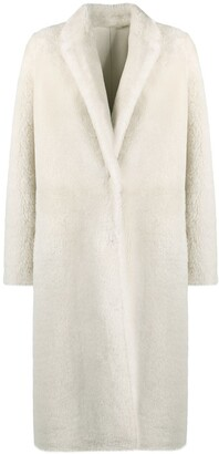 Yves Salomon Fitted Single-Breasted Coat