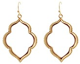 Women's Fashion Drop Earrings - Gold/Gold