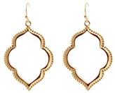Women's Fashion Drop Earrings - Gold/Gold