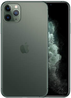 Apple iPhone 11 Pro Max - 512GB Midnight Green - T-Mobile with installments plan)