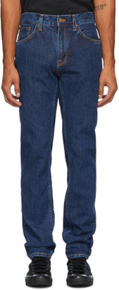 Nudie Jeans Blue Gritty Jackson Jeans
