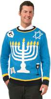 Forum Novelties Men's Outrageous Chanukah Sweater