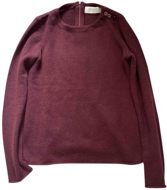 Goat Burgundy Cashmere Knitwear for Women