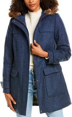 Pendleton Portland Wool-Blend Coat