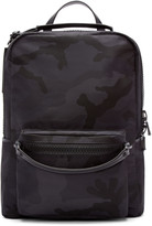Valentino Black Camo Backpack