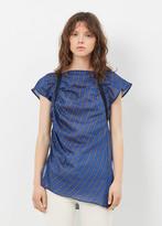 Rachel Comey blue studio top