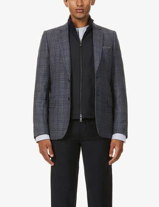 Paul Smith Single-breasted wool-blend blazer