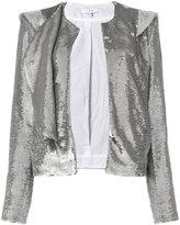 IRO square shoulder blazer