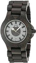 WeWood Men's Sargas Wood Wooden Watch (Black)