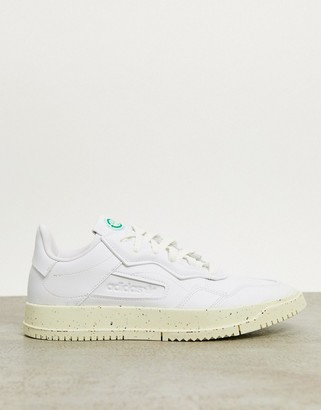 adidas Clean Classics Sustainable SC Premiere trainers in white