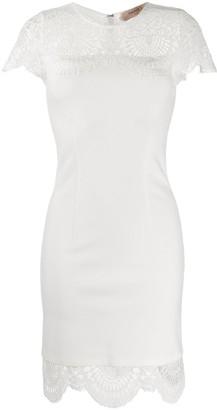 Twin-Set Lace Insert Dress