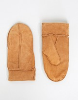 Vila Real Leather Mittens