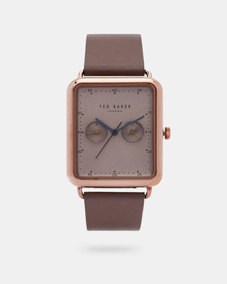 Ted Baker ISSACC Leather strap watch