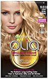Garnier Olia Oil Powered Permanent Hair Color, 9.03 Light Pearl Blonde (Packaging May Vary)
