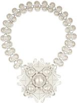 Bottega Veneta Enameled sterling silver necklace