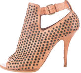 Givenchy Grommet Embellished Leather Booties