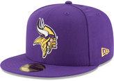 New Era Minnesota Vikings Team Basic 59FIFTY Cap